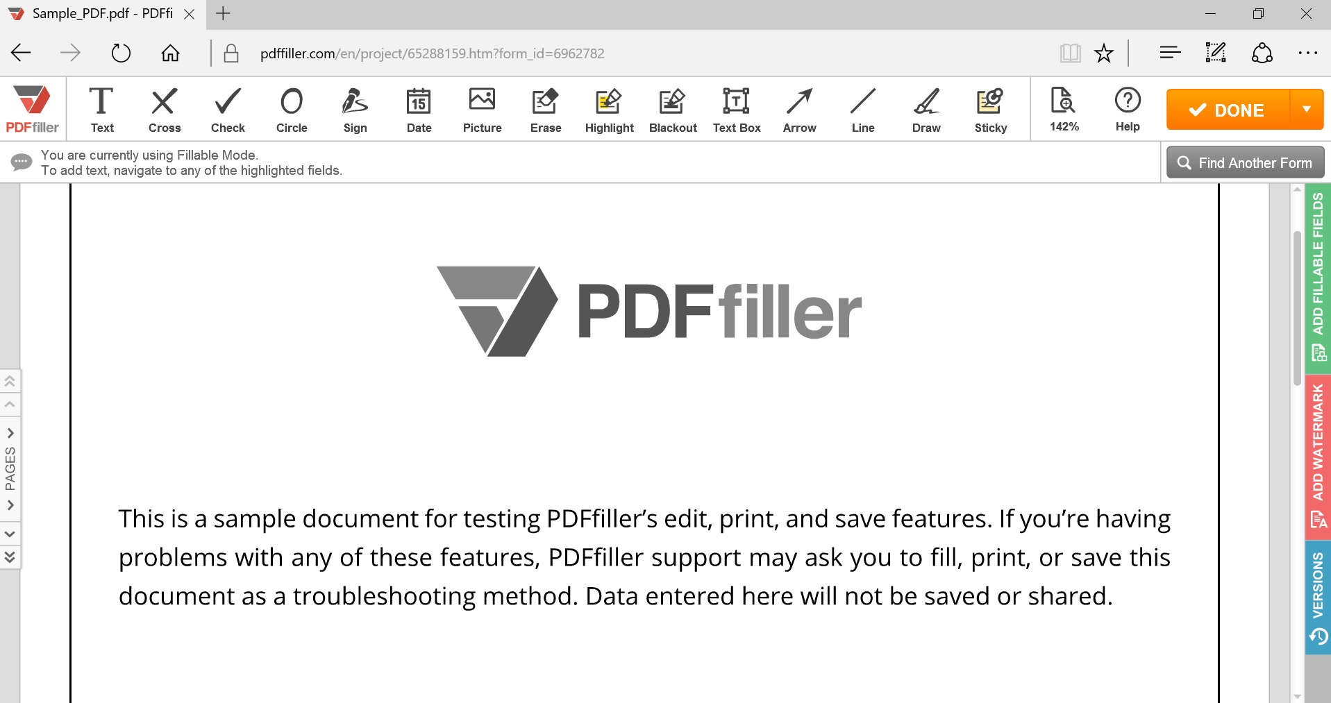 Edit Scanned PDF  Search, Edit, Fill, Sign, Fax & Save PDF