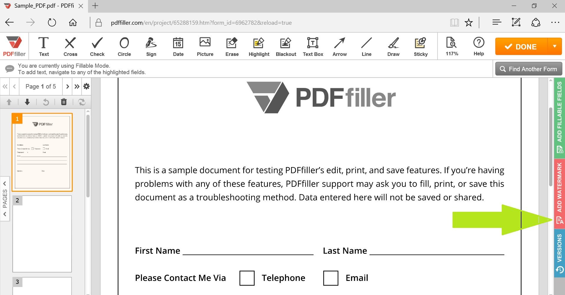 Edit Scanned PDF  Search, Edit, Fill, Sign, Fax & Save PDF