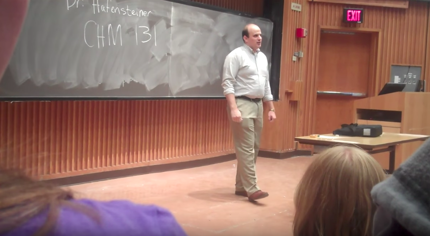 What happened in this class on the first day will make you laugh out loud!