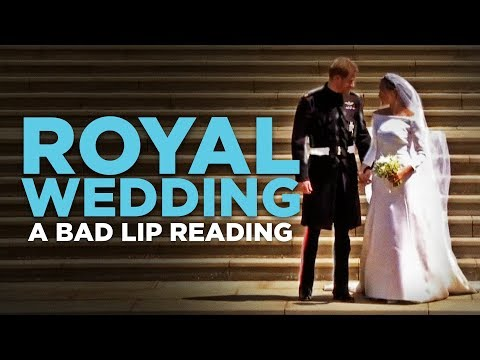 A Bad Lip Reading of Royal Wedding Will Make You Laugh Out Loud!