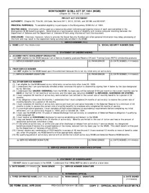 Dd 2366 - Fill Online, Printable, Fillable, Blank | PDFfiller