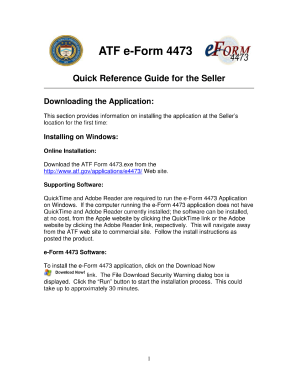 Atf E Form 4473 - Fill Online, Printable, Fillable, Blank | PDFfiller