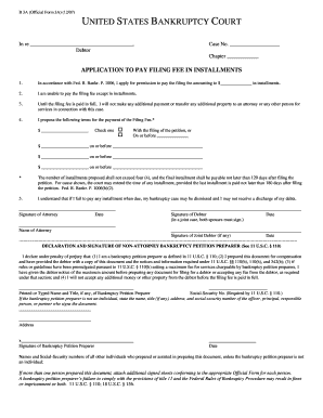 Official Form 3a  Private Car Sale Contract Payments