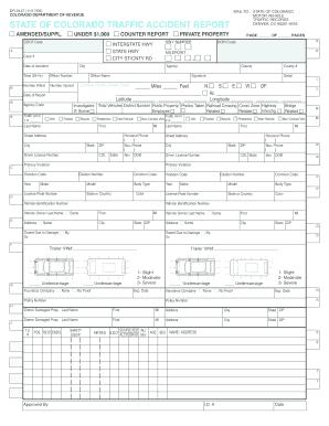 2005 Form CO DoR DR 2447 Fill Online, Printable, Fillable, Blank ...