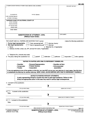 2009-2017 Form CA MC-050 Fill Online, Printable, Fillable, Blank ...