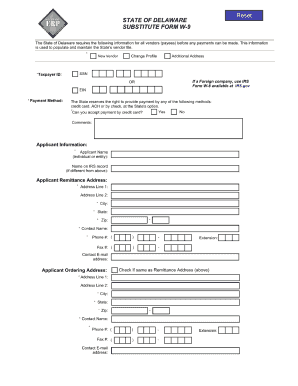 delaware form w9