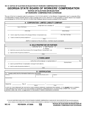 West Virginia Workers Comp Certificate - Fill Online, Printable ...