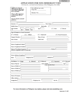 fa form no 2 revised 2000 embassy of philippines in malaysia