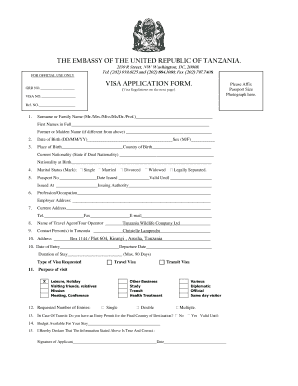 Visa Application Form For Visiting The Republic Of Iraq - Fill ...