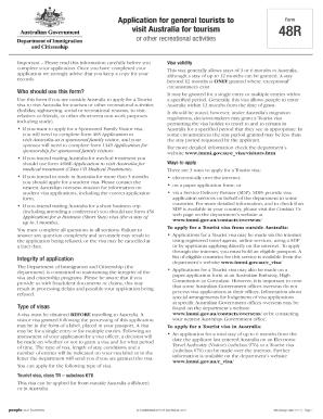 target application form pdf australia