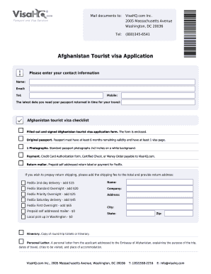 Afghanistan Visa Application Form Fillible - Fill Online, Printable on afghanistan visa title, afghanistan visa cover letter, afghanistan visa information, afghanistan visa in washington dc, afghanistan passport,