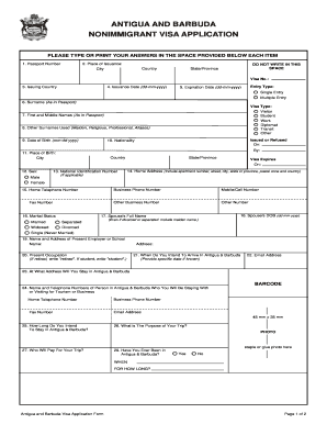 United State Visa Application - Fill Online, Printable, Fillable ...