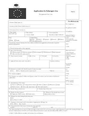 Schengen Visa Application - Fill Online, Printable, Fillable, Blank on eu visa application form, addendum example for visa application form, canadian visa application form, short stay visa, supplemental documents, visa application information, passport application form, cyprus visa application form, greece visa application form, visa application fee, chinese visa application form, transit visa, belgium visa application form, long stay visa, malta visa application form, airport transit visa, finland visa application form, leave application form, indian visa application form,