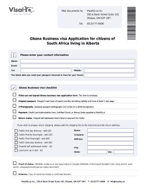 Visa Application Form South Africa Fill Online Printable Fillable Blank Pdffiller