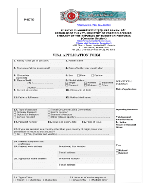 wwwmfagovtrmfa visa application form
