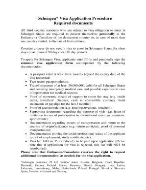 Fillable Online Grembassy Slovakia Schengen Visa Embassy Application Fillable Form Fax Email Print Pdffiller
