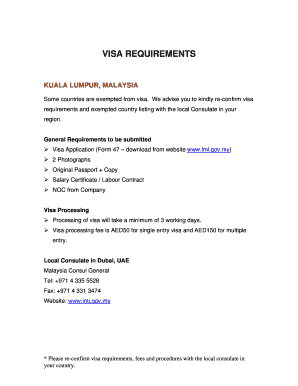 Fillable Online Mecsc Malaysian Visa Information India Home Page Vfs Global Fax Email Print Pdffiller