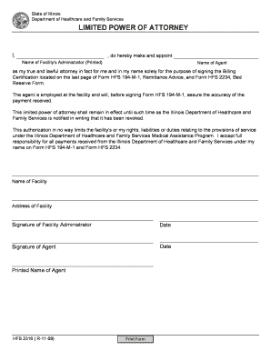 hfs2316 form