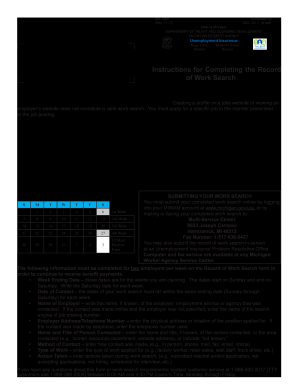 1583 Work Search Form - Fill Online, Printable, Fillable, Blank ...
