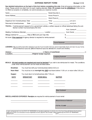 See detailed instructions on the back of this form before completing this side - ccc nebraska