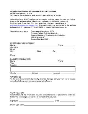 intent to hire form nevada Fill Online, Printable, Fillable, Blank ...