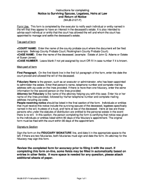 deceased estate tax return instructions
