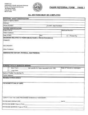 Pasrr New Hampshire - Fill Online, Printable, Fillable, Blank ...