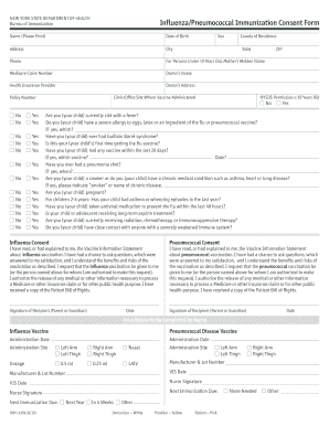 Blank Immunization Consent Form - Fill Online, Printable, Fillable ...