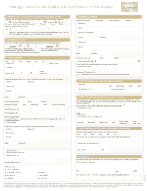 credit card application fill online printable fillable blank