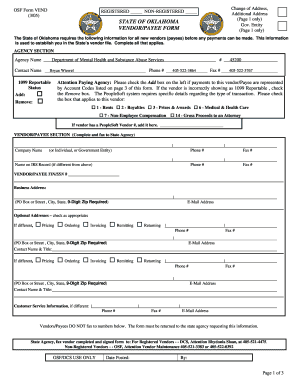Oklahoma W 9 Form - Fill Online, Printable, Fillable, Blank ...