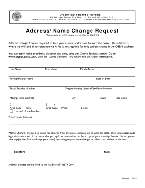 Name Change Form - Fill Online, Printable, Fillable, Blank | PDFfiller