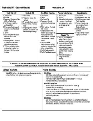 rhode island drivers license form