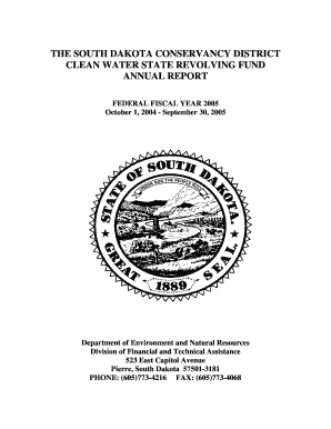 south dakota conservancy district clean water and drinking form