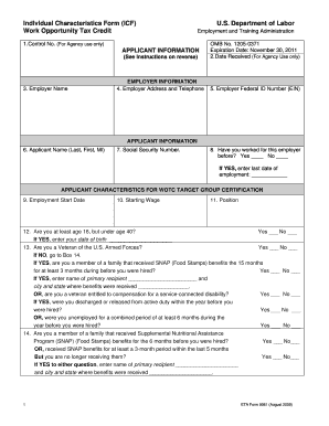Eta Form 9061 - Fill Online, Printable, Fillable, Blank | PDFfiller