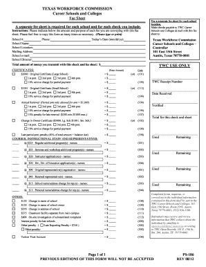 texas workforce ps 186 form