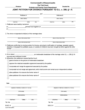Petition For Divorce Form New Orleans - Fill Online, Printable ...