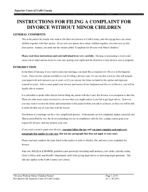 Bill of sale form idaho complaint for divorce with minor children instructions for filing a complaint for divorce lawlibrary cobbcountyga solutioingenieria Image collections