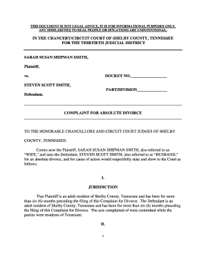blank divorce papers pdf Forms and Templates Fillable Printable
