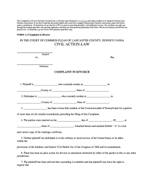 Bill of sale form pennsylvania divorce form templates fillable what does the final divorce look like in pa form solutioingenieria Image collections