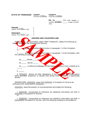 18 Printable Printable Divorce Papers Forms And Templates Fillable