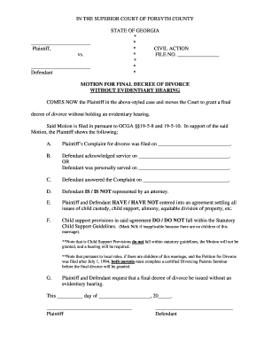 Perfect Fake Divorce Judgement Papers Mi Form Regarding Fake Divorce Certificate
