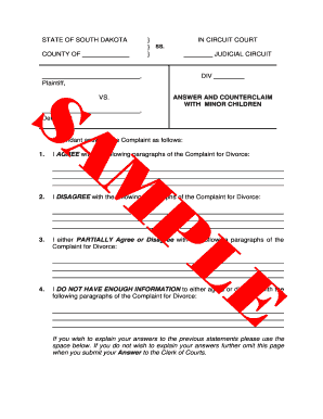 Bill Of Sale Form Kansas Answer To Petition For Divorce ...
