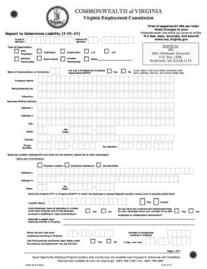 Form Vec Fc 27 - Fill Online, Printable, Fillable, Blank | PDFfiller