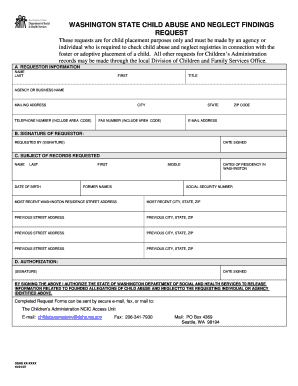 Child Abuse Forms - Fill Online, Printable, Fillable, Blank ...