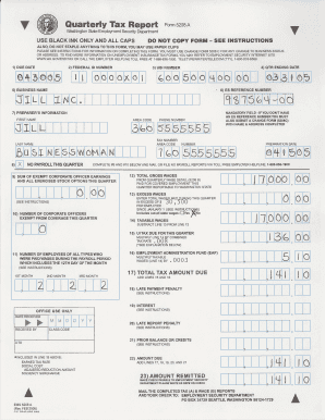 Fillable Washington State Form 5208a - Fill Online, Printable ...