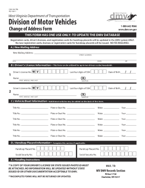 Dmv Change Of Address Forms | Trb Form Image Fill Online Printable Fillable Blank Pdffiller