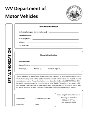 Division of motor vehicles forms west virginia autos post for Virginia department of motor vehicle