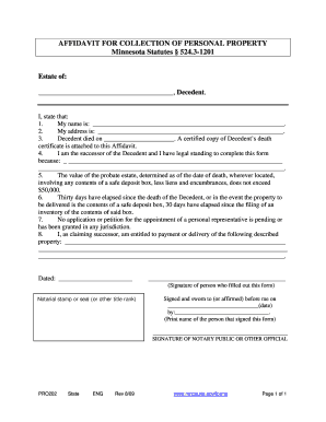 Bill Of Sale Form Alaska Small Estate Affidavit Form Templates
