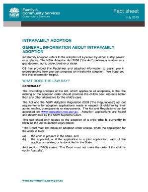 intrafamily adoption forms louisiana fill online printable