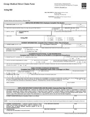Cigna Po Box 182223 Chatanoogatn - Fill Online, Printable ...